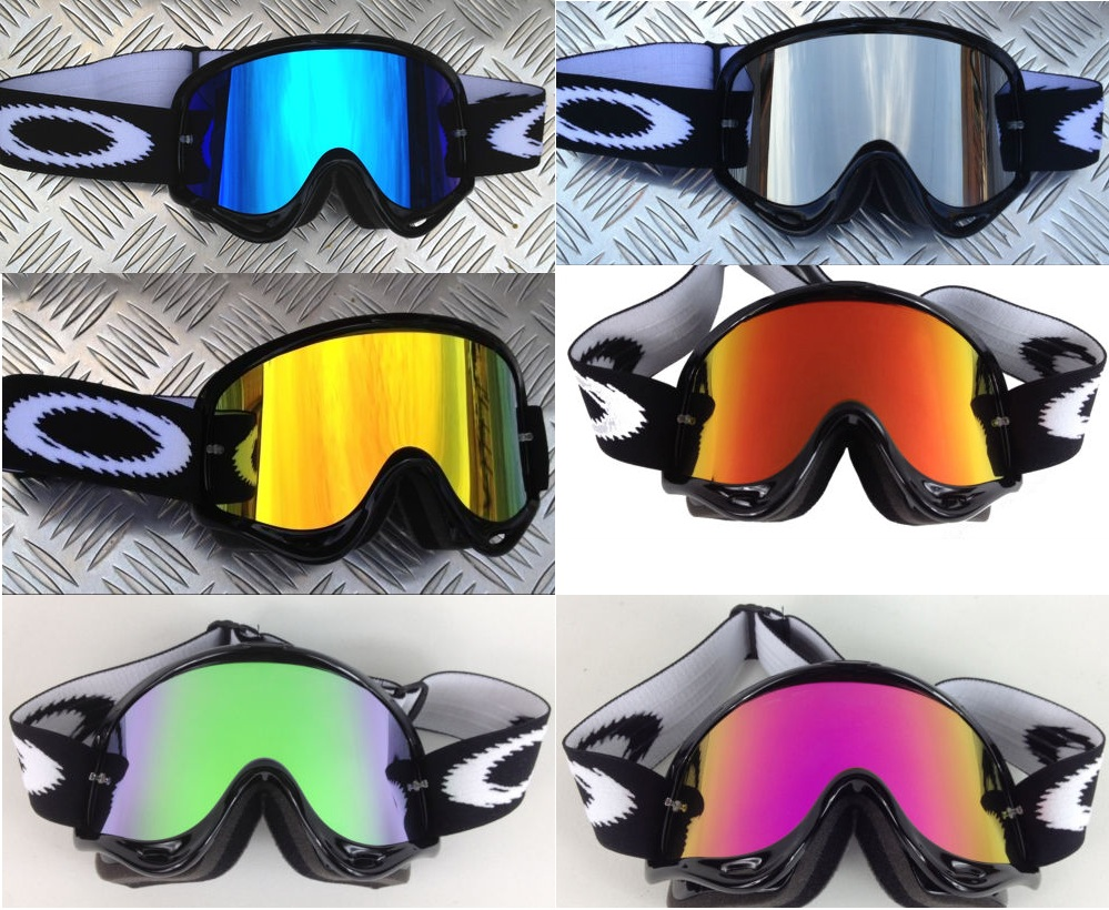 Oakley Crowbar Fire Iridium Lens